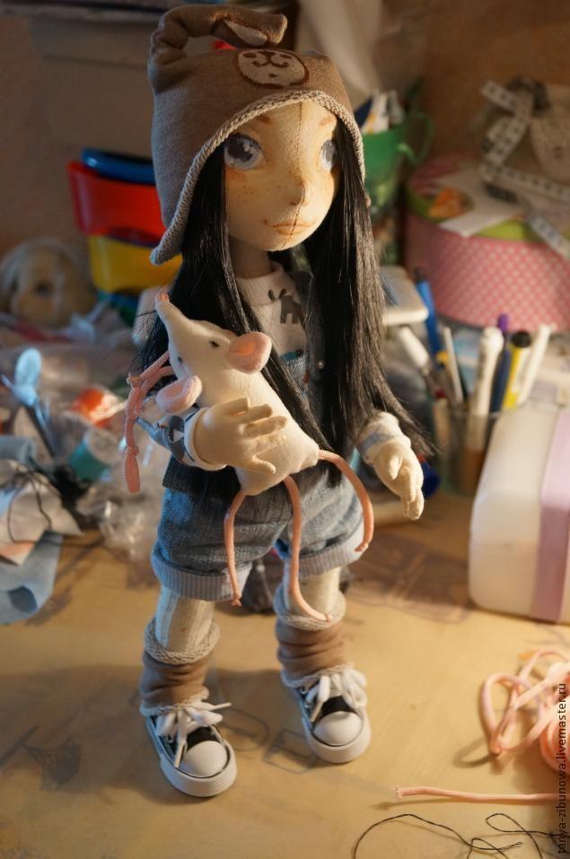 вязание игрушек ручная работа