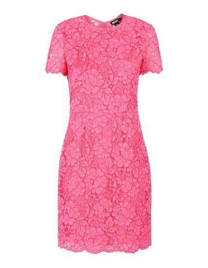 Dkny Pink Lace Style Fashion Inspiration Pinterest