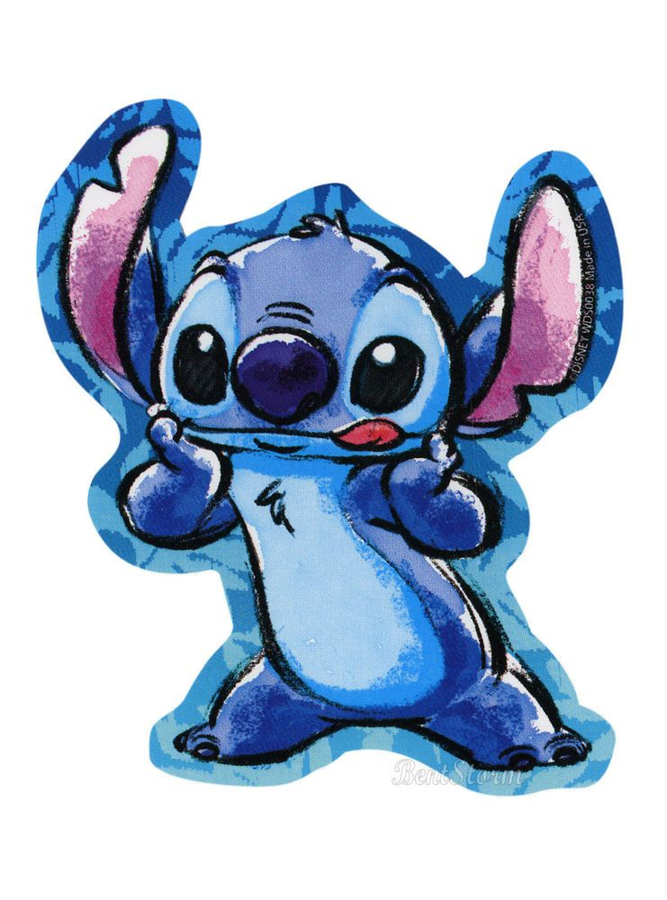 Disney Lilo And Stitch Sticking Tongue Out Diecut Vinyl
