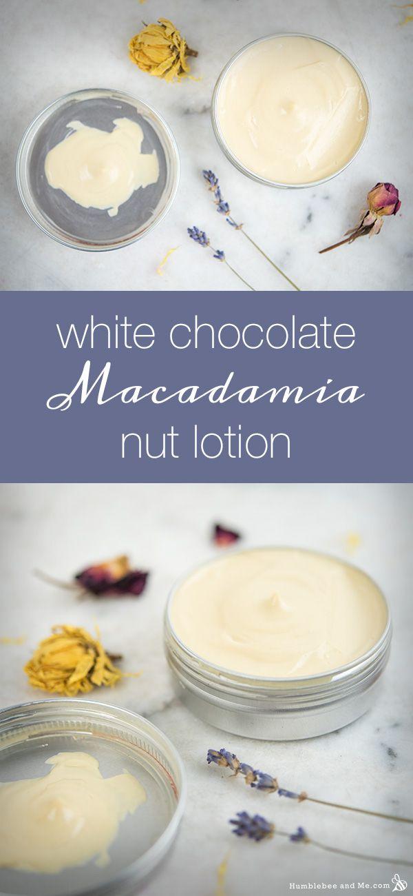 White Chocolate Macadamia Nut Lotion Recipe