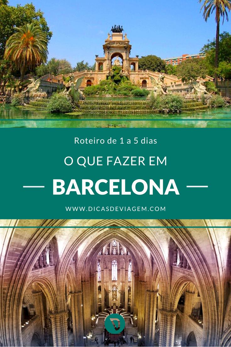 Roteiro De Viagem Barcelona Espanha Barcelona Pontos Turisticos De Barcelona Ponto Turistico