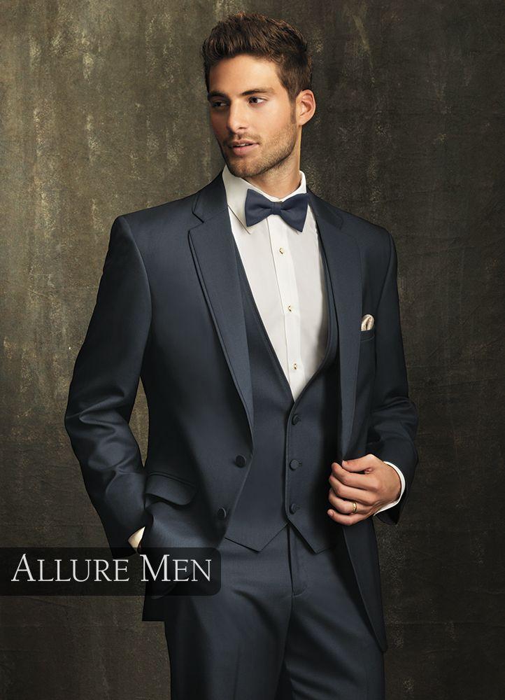 4.) Slate Blue \'Bartlett\' Tuxedo by Allure Men | Possible Wedding ...