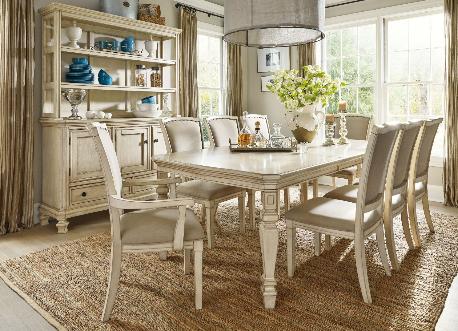 Dining Room Decoration Ideas To Be Chic & Elegant  To Be Shabby Pleasing Dining Room Sets Ashley Furniture 2018