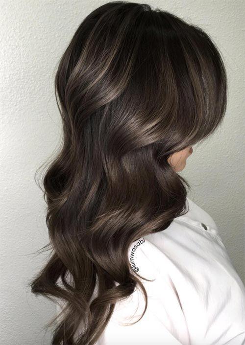 53 heißesten Herbst Haarfarben zu versuchen: Trends, Ideen und Tipps - Neueste frisuren   bob frisuren   frisuren 2018 - neueste frisuren 2018 - haar modelle 2018