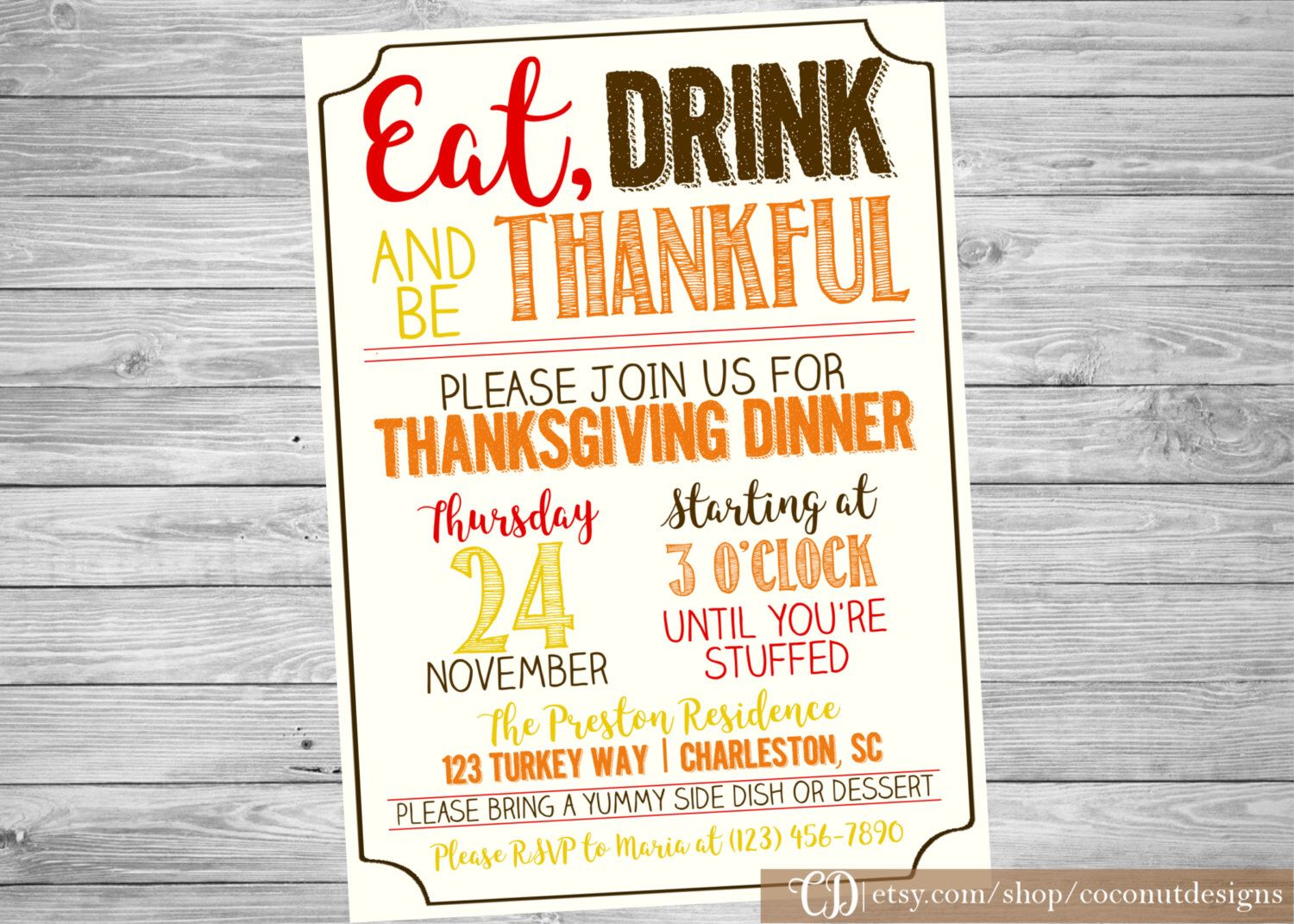 Thanksgiving Feast Set of 24 Holiday Charades Cards Friendsgiving Party Game