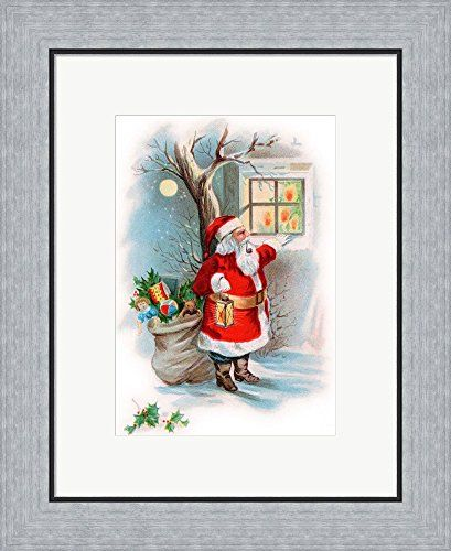 Vintage Xmas 2 by Vintage Apple Collection Framed Art Print Wall ...