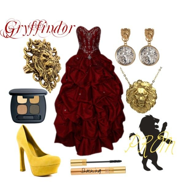 Gryffindor Harry Potter Prom By Colorsgalore On Polyvore Prom