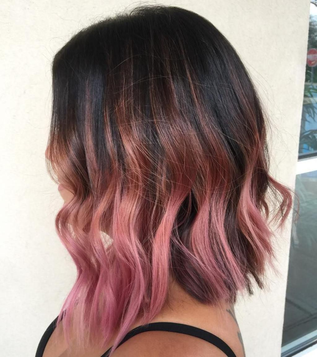 40 Ideas Of Pink Highlights For Major Inspiration Pink Ombre Hair Hair Color Pink Hair Highlights