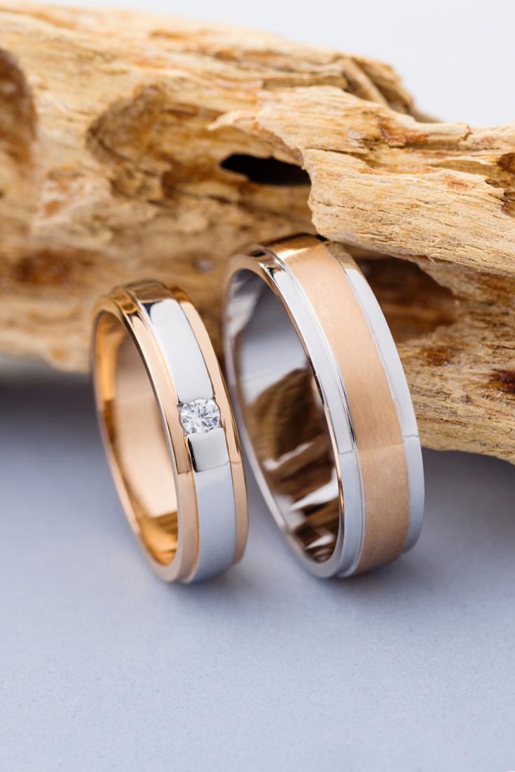 Matching Wedding Rings Wedding Rings Set Wedding Bands His Etsy In 2020 Wedding Ring Sets Wedding Rings Matching Wedding Rings