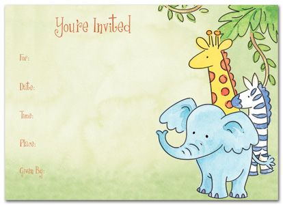 Download Now Zoo Birthday Invitations Ideas