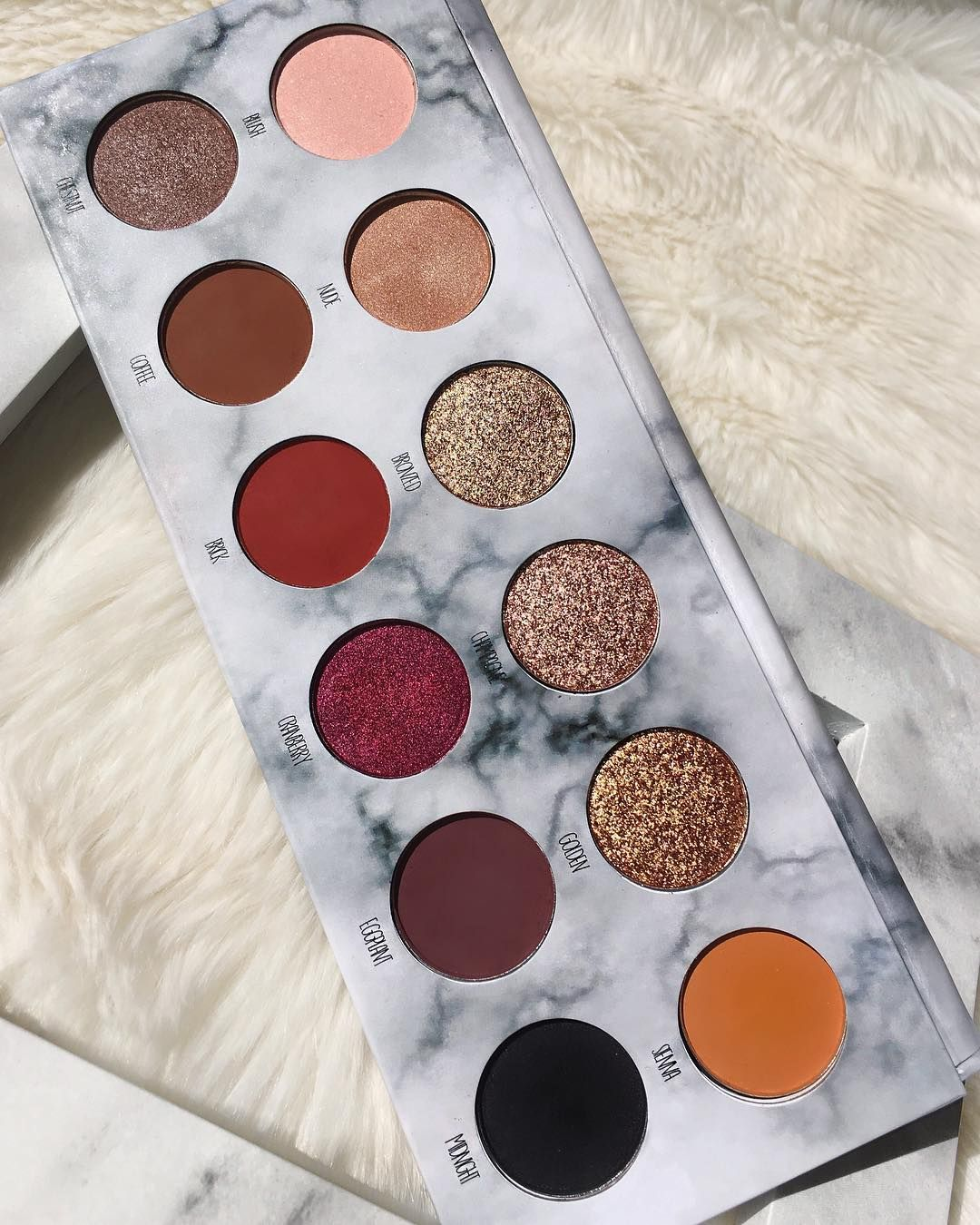 Creative Soul Cosmetics Harmony Eyeshadow Palette With Images