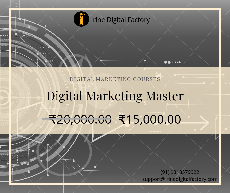 Of degree students, and more. Digital Marketing Master Course (With images) | Digital ...