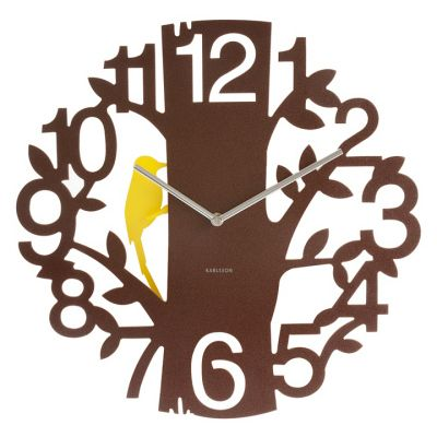 Wall clock Woodpecker I love birds and trees I just wish the