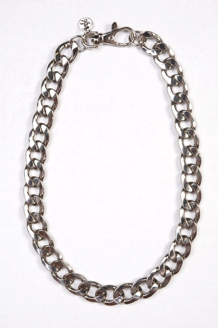 Cable chain necklace plated metal main range jewellery shop