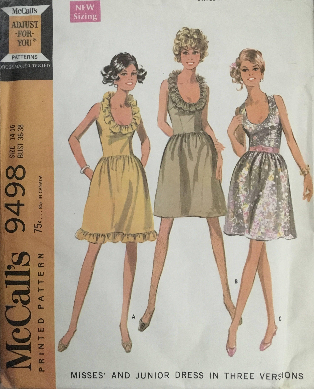 Mccall S 9498 Sewing Pattern Vintage Uncut Etsy In 2020 Vintage Sewing Patterns Vintage Patterns Fur Coat Vintage