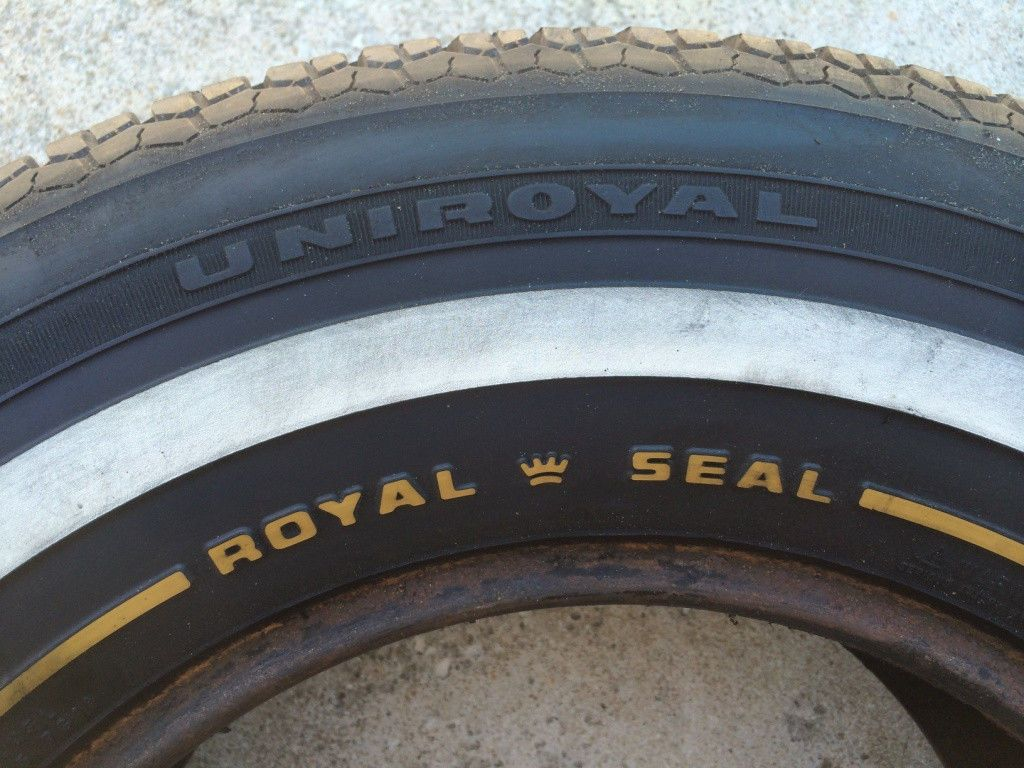 Uniroyal Tires Pre Owned Royal Seal Xtm Vintage Tires With
