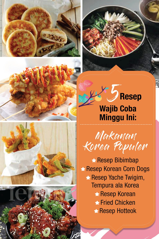 5 Resep Korea Wajib Coba Resep Masakan Korea Resep Makanan Korea Makanan Korea