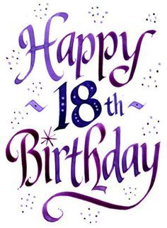 Pin by leslie marie on my stuff pinterest birthdays and happy happy 18th birthday quotes special birthday birthday fun birthday greetings birthday wishes birthday cards birthday clipart happy birthdays birthday m4hsunfo