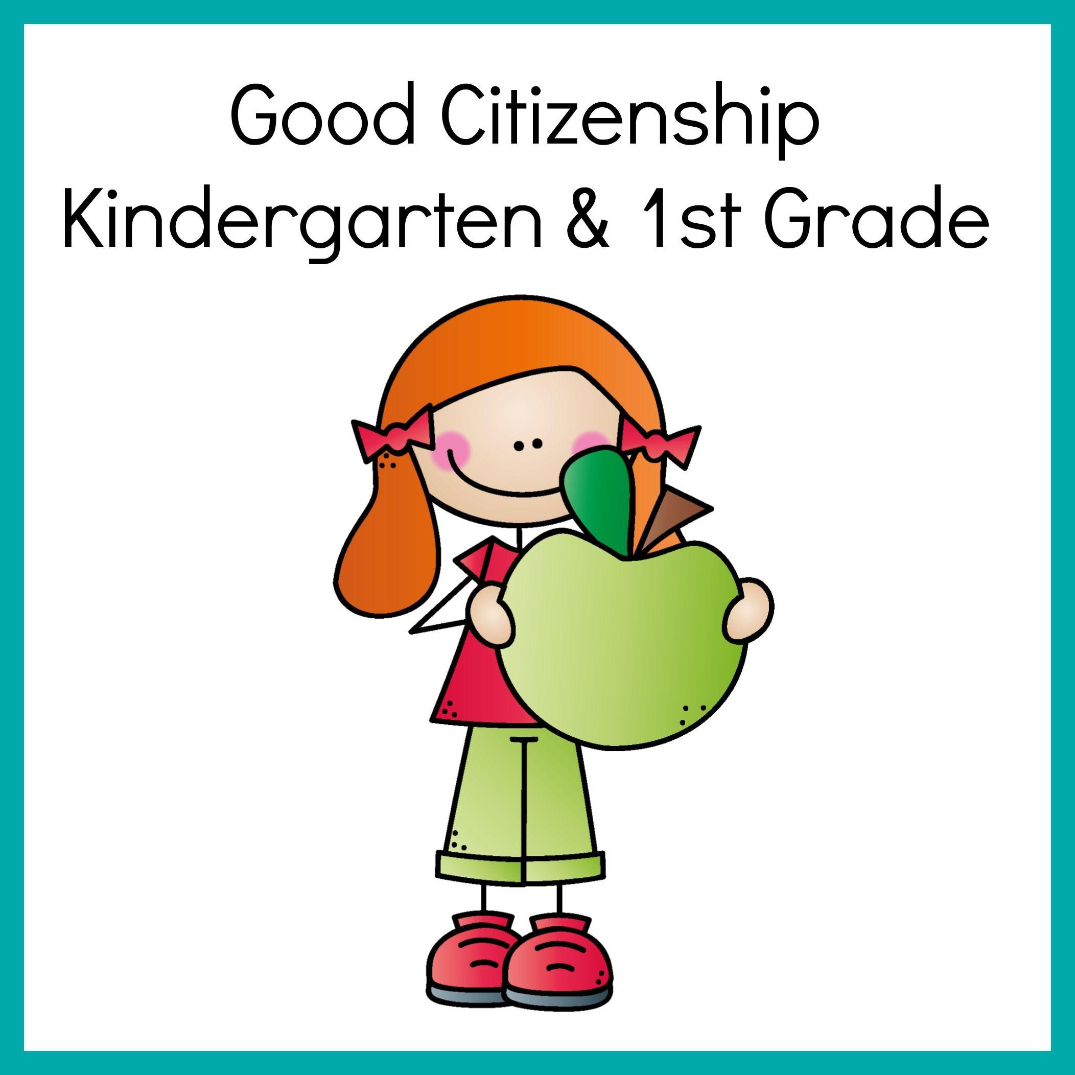 Pin On Good Citizenship Activities Kinder First Grade [ 2104 x 2104 Pixel ]