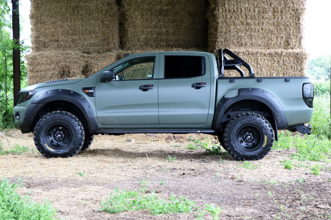 Ford Ranger 2 2 Seeker Raptor Camo Edition In Stock 3 In Build Now Grey Green Or Matt Black Over 9k Style Spend Pic Ford Ranger Ford Trucks Custom Ford Ranger