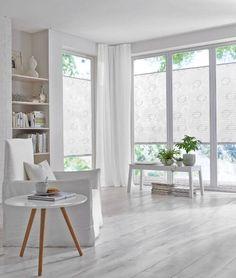 Wohnzimmer Plissee Weiss Muster ❤ Vielfältige Plissees ❤ Bezaubernde  Flächenvorhänge ❤ Liebevolle Jalousien ❤ Tolle Gardinen