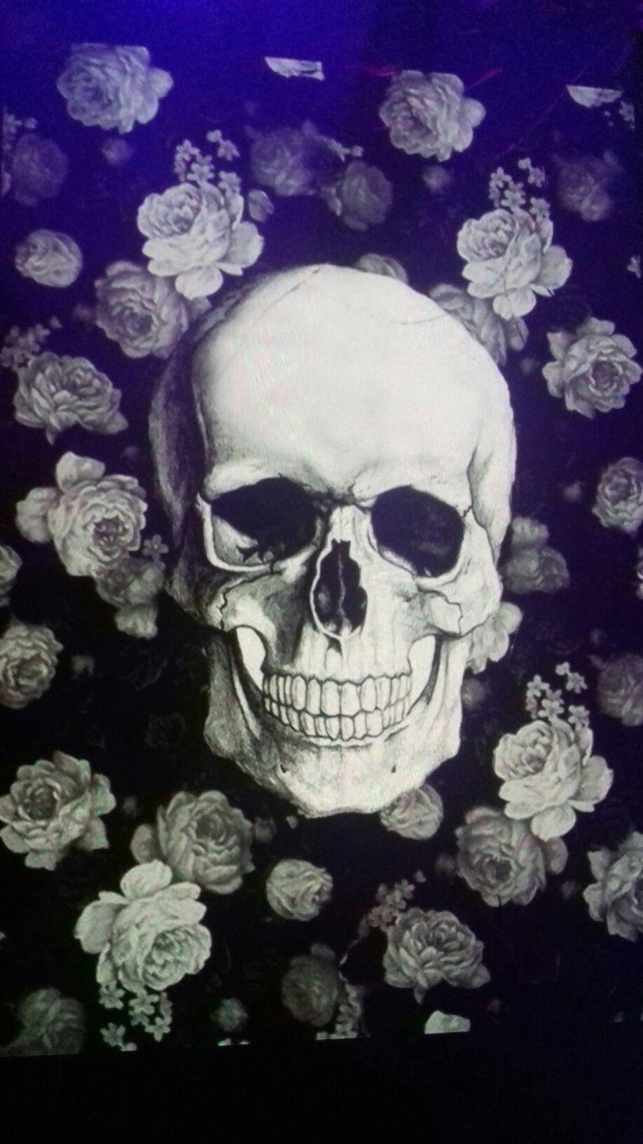 Pin by Jaclyn835 David on Flowers Skull wallpaper, Skull