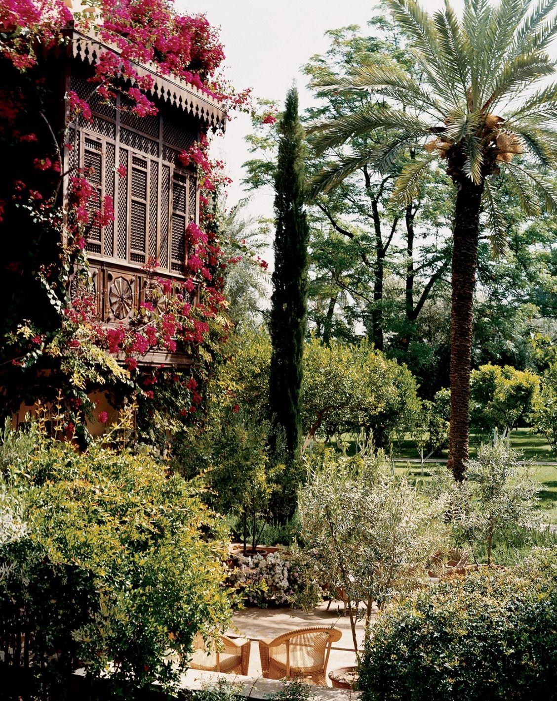 Secret Gardens From The Vogue Archives Beautiful Gardens Garden Styles Garden Design