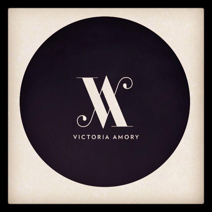 12811985235ea Victoria Amory. The new logo! | Condiment Collection | Logos design ...