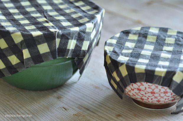 DIY plastikfreies Bienenwachstuch/Foodwrap