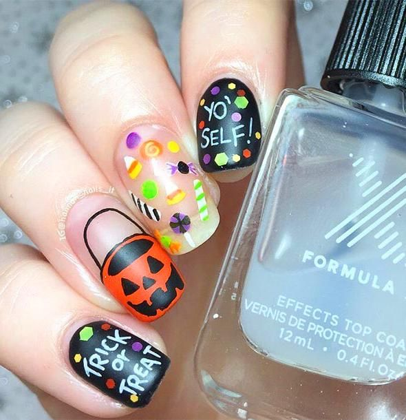 2019 的 70 Best Halloween Nail Art Designs And Ideas You ...