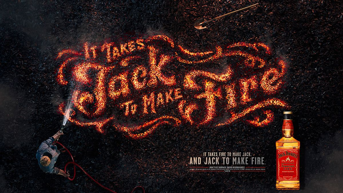 Jack Fire On Behance Jack Daniels Behance