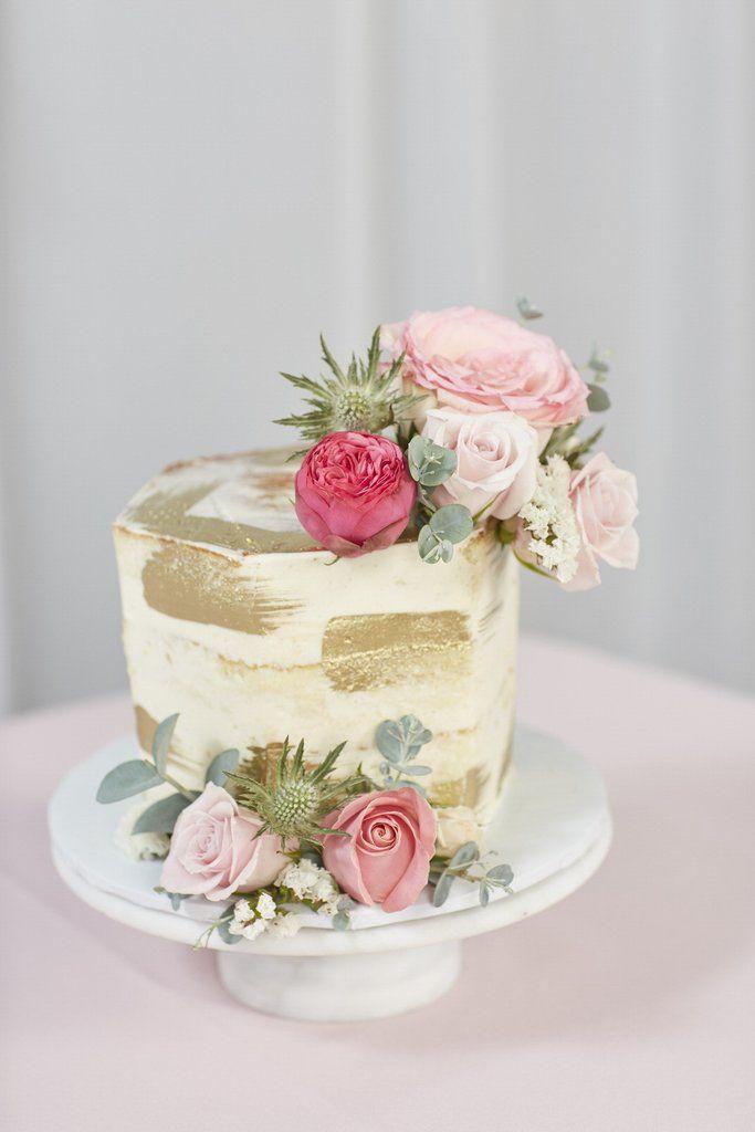 Loose Flowers Small Savoury Cake Mini Cakes Wedding Cakes