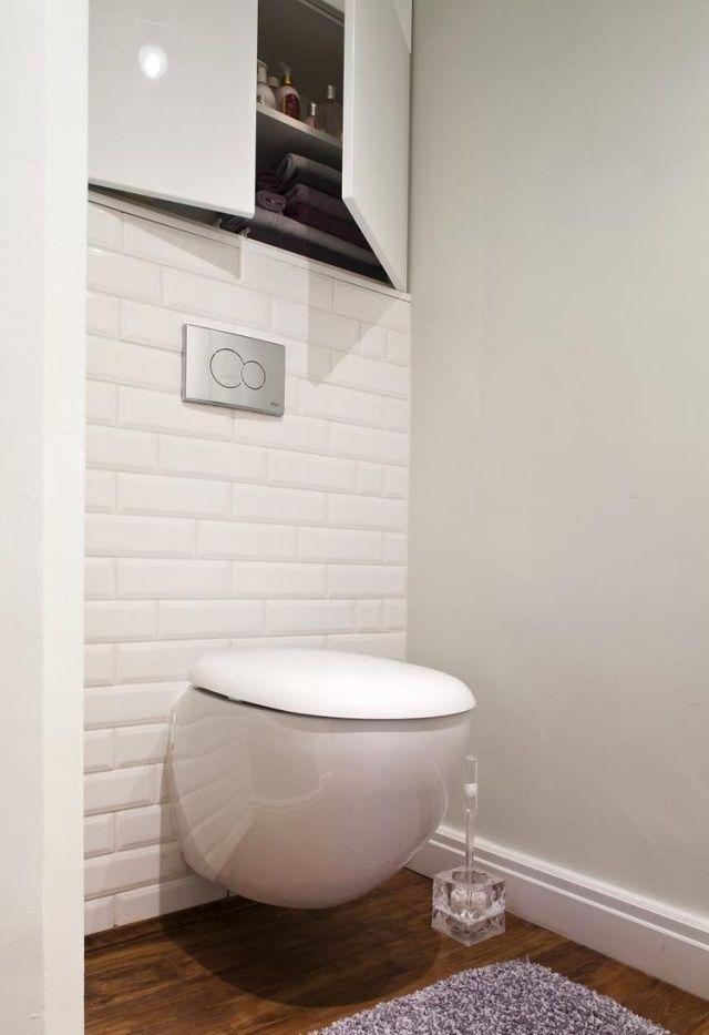 Carrelage salle de bain imitation bois 34 id es modernes for Carrelage toilette