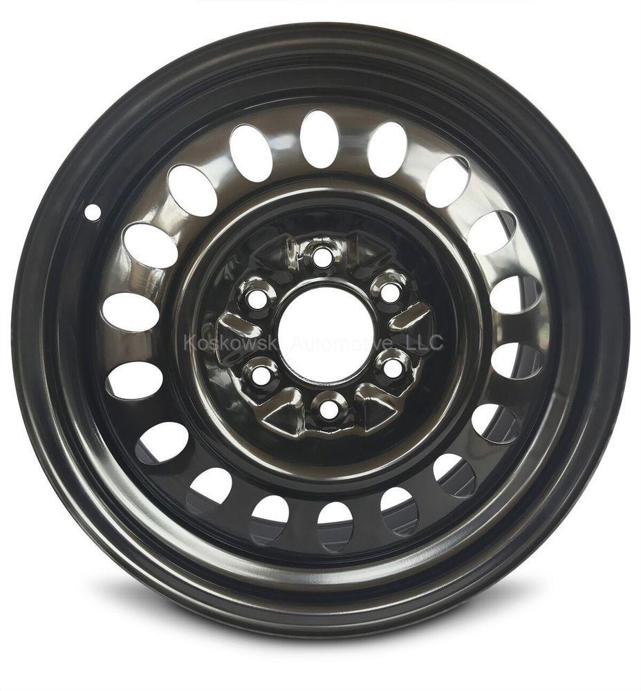 Gm 17 New Steel Full Size Spare Wheel Rim Envoy Trailblazer Rainier 9593405 Roadready Chevrolet Trailblazer Wheel Rims Black Steel Wheels