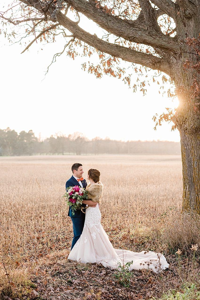 A Late Fall Michigan Barn Wedding at Stone House Farm ...