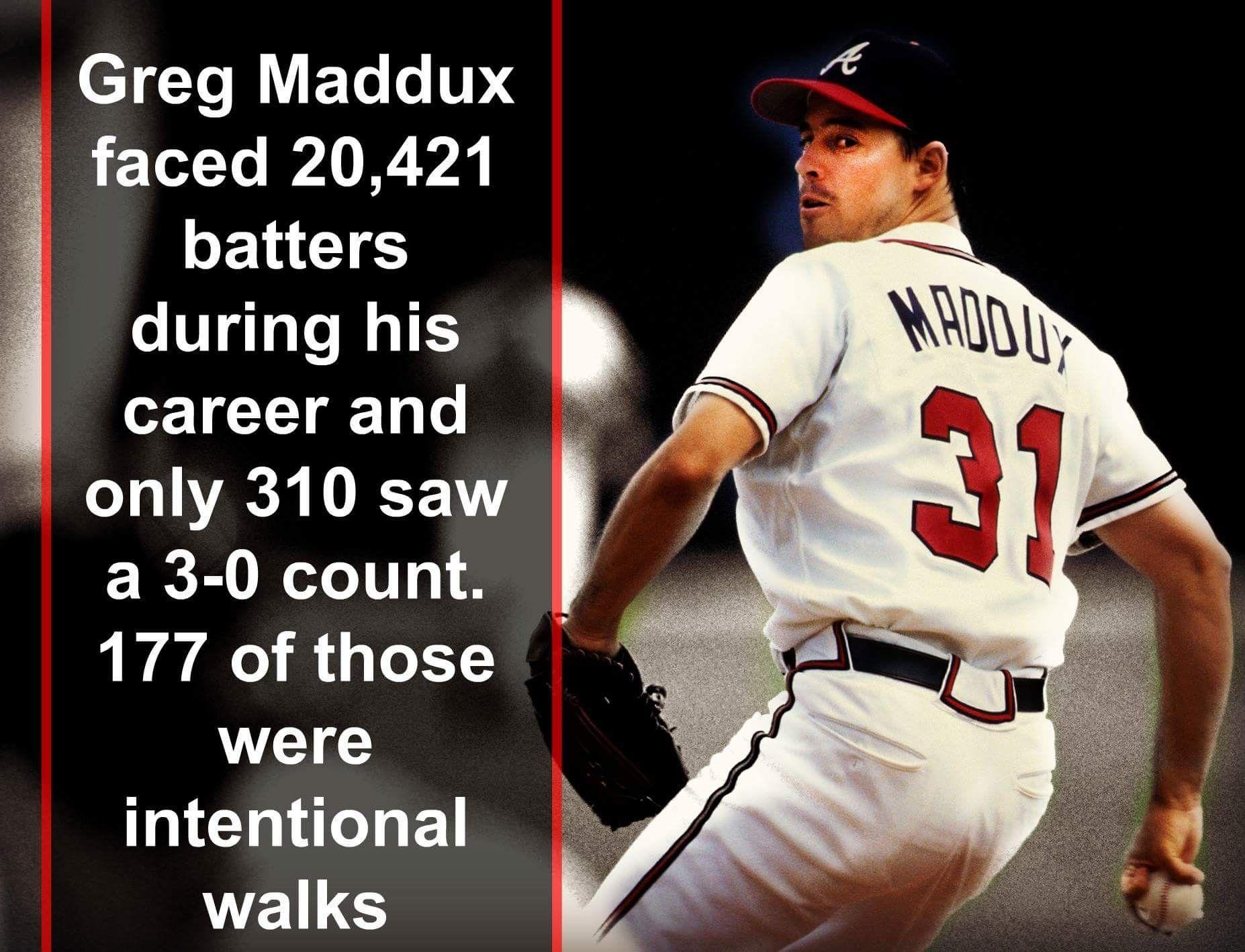 Mlb Legends Greg Maddux Atlanta Braves Baseball Baseball Pitcher