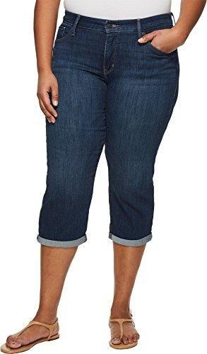 68de6831 Levi's Women's Plus Size Shaping Capri Jeans   Brooklyn Shop   Capri jeans, Plus  size women, Women