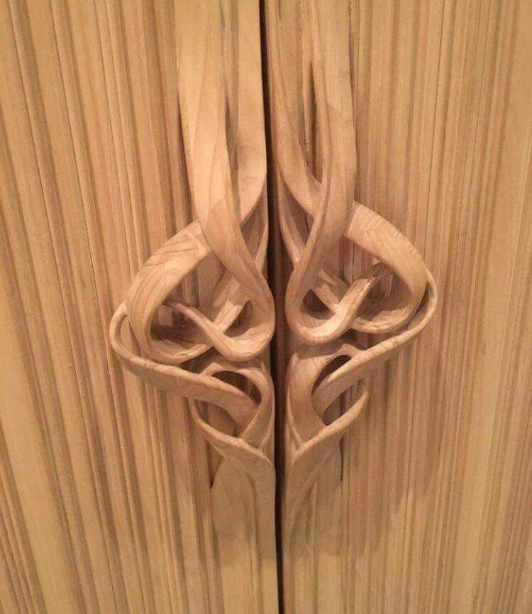 Holz m bel for Ausgefallene wohnideen