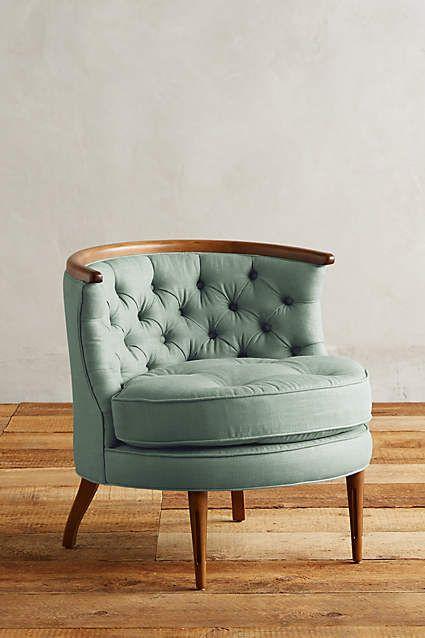 linen bixby chair | Interior Ideas | Pinterest