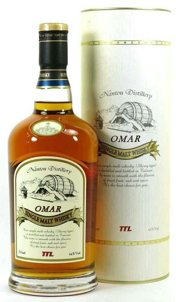 omar single malt whisky