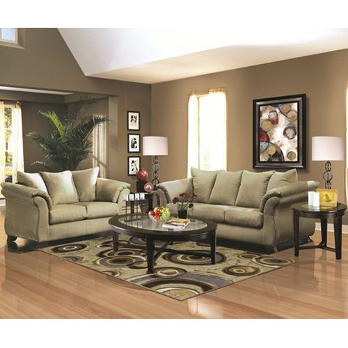 Woodhaven 7 piece fairway collection sage available after - Woodhaven living room furniture collection ...