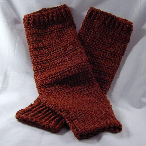 free pattern for leg warmers to crochet | Free Crochet Pattern: Fun ...