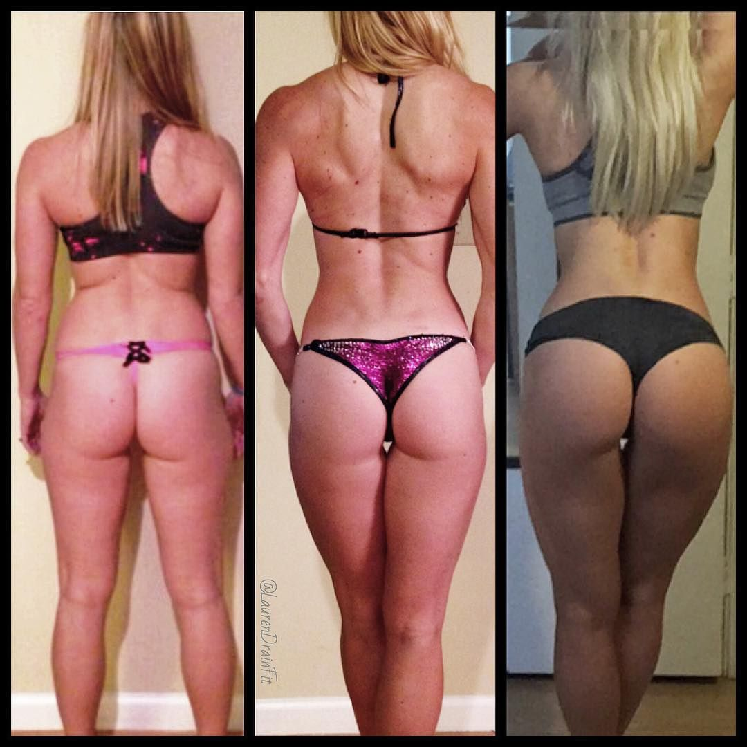Heres A One Year Transformation From Flat Flabby To A More Round And Full Bum White Girls Can Have A Booty Anyone Can With Weights And Proper Nutrition