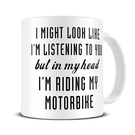 Motorcycle Gifts Motorbike Gifts Motorbike Mug In My