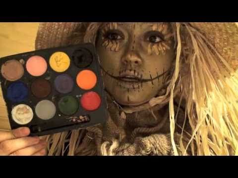 Scarecrow Makeup: Designs, Tips, Tutorials | All Hallows\' Eve ...