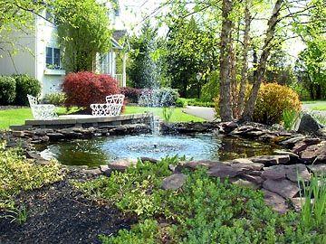 Garden Ponds Ponds Backyard Pool Landscaping Backyard 400 x 300