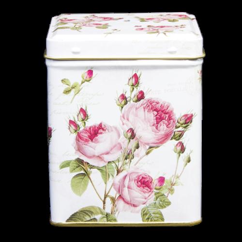 Dit prachtige opberg blik voorzien van roze bloemen is een design van niemand minder dan Dora Papis. Echt een plekje in de woonkamer waard! Om het geheel af te maken verkopen wij ook de fruitvariant.