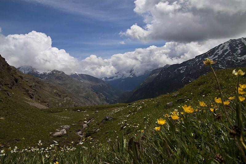 Scorcio di Ceresole Reale, Parco Nazionale del Gran Paradiso.