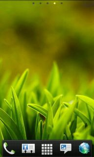 Download free Grass Field Nature Android Theme Mobile Theme