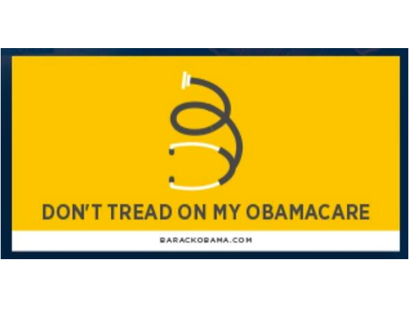 Democrats Steal Tea Party Symbol To Promote Obamacare Symbols And